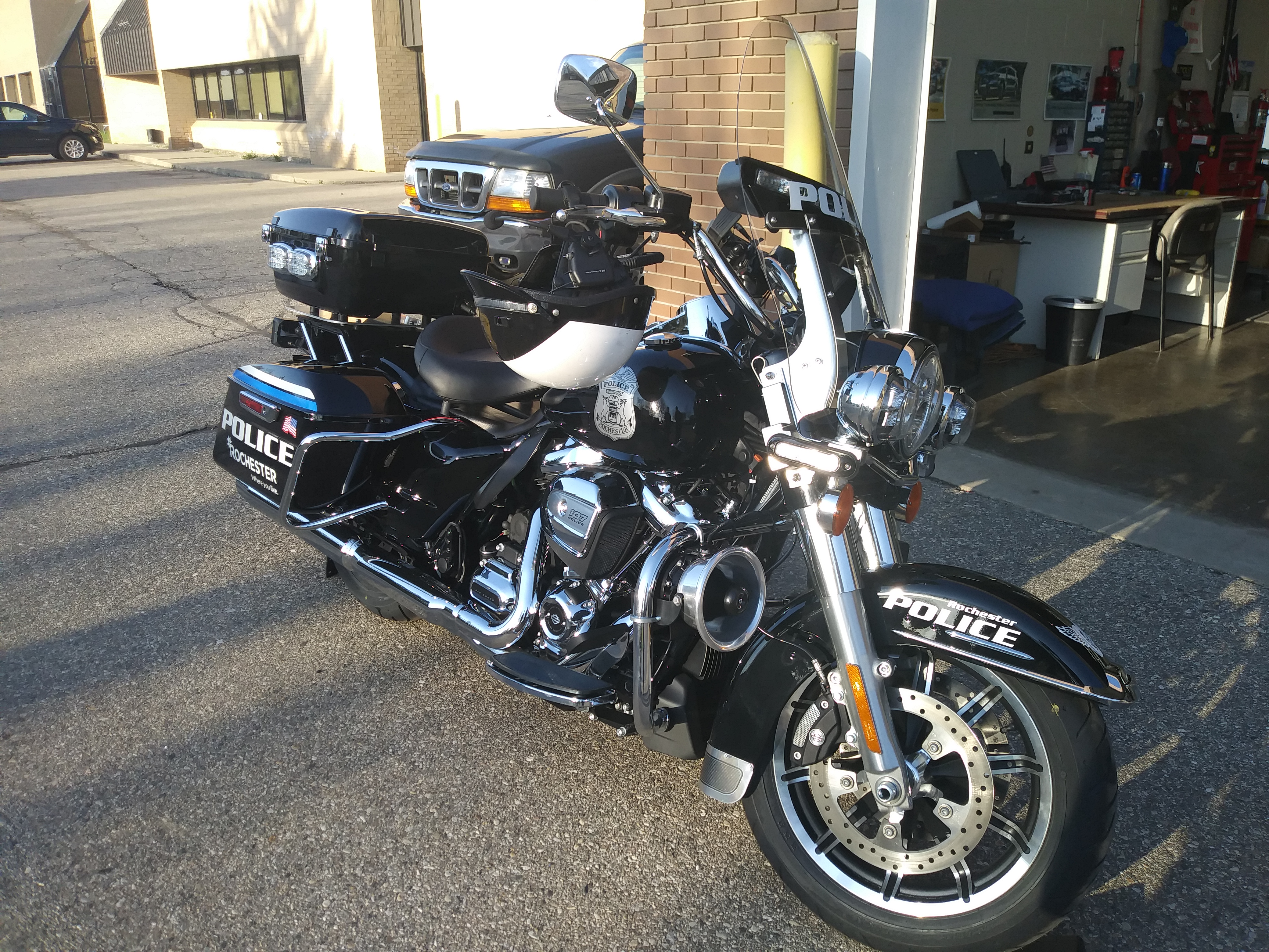 Rochester Police Motor Patrol