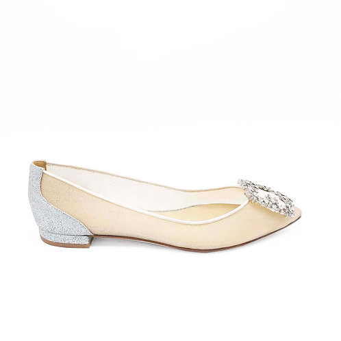 15mm Amelia 平底鞋