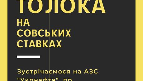 Анонс: 13 березня — весняна толока на Совських ставках