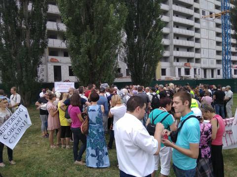 Провокатори зірвали засідання депутатів Київради на Совських ставках