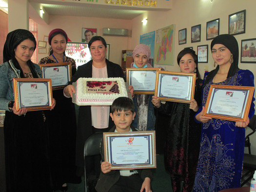 """Digital Storytelling and the """"First Five"""" in Tajikistan"""
