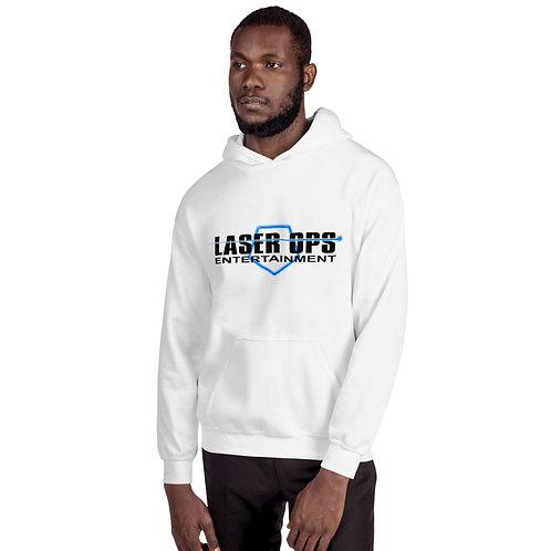 Laser Ops Hoodie (White)