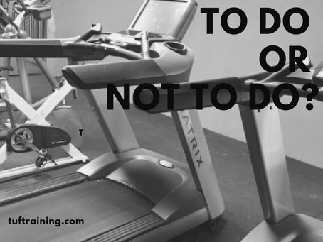 Cardio. To do? Or not to do?