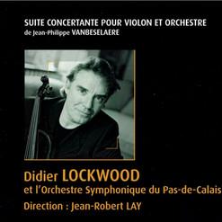 "CD ""Suite Concertante"" - JPh.VANBESELAERE"