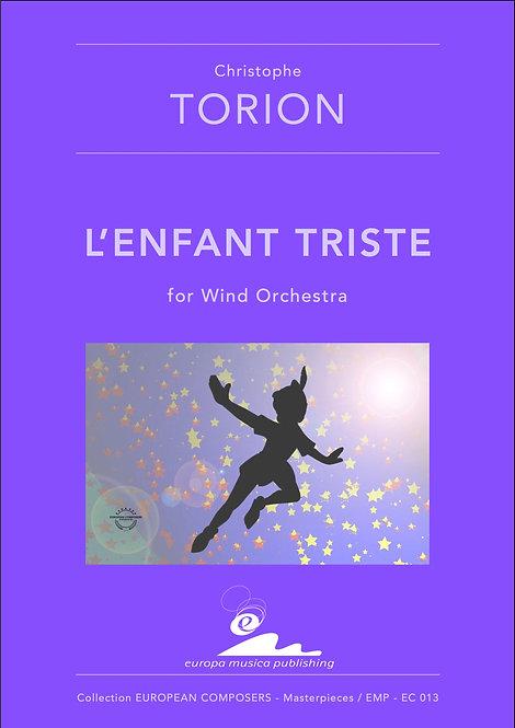 PDF - Score / L'ENFANT TRISTE