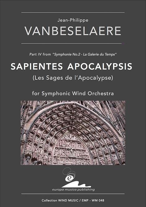 PDF - Score / SAPIENTES APOCALYPSIS (Les Sages de l'Apocalypse)