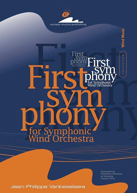 Score / FIRST SYMPHONY