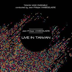 """CD """"Live in Taiwan"""" - JPh.VANBESELAERE"""