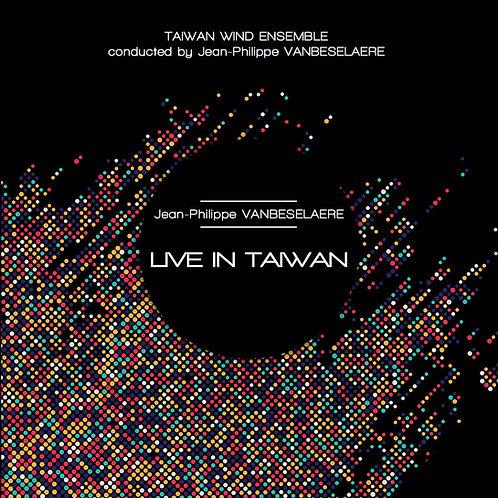 """CD """"LIVE IN TAIWAN"""""""