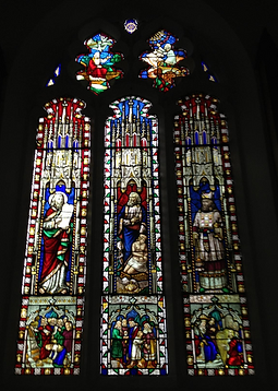 Window - Moses, Abraham and Aaron