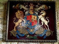 Arms of King George IV