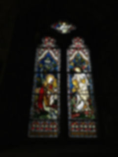 Resurrection Window at All Saints', Aston on Trent