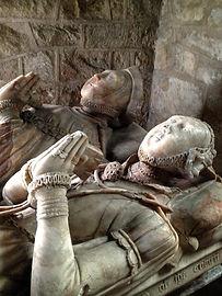 Tomb of Richard and Jane Harpur - 16thc