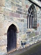 Chancel window and priest's door