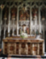 High Altar from the 1905 restoration