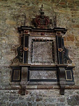 Wall monument to Richard Sale - 17thc