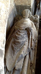 Tomb of a 13th century priest