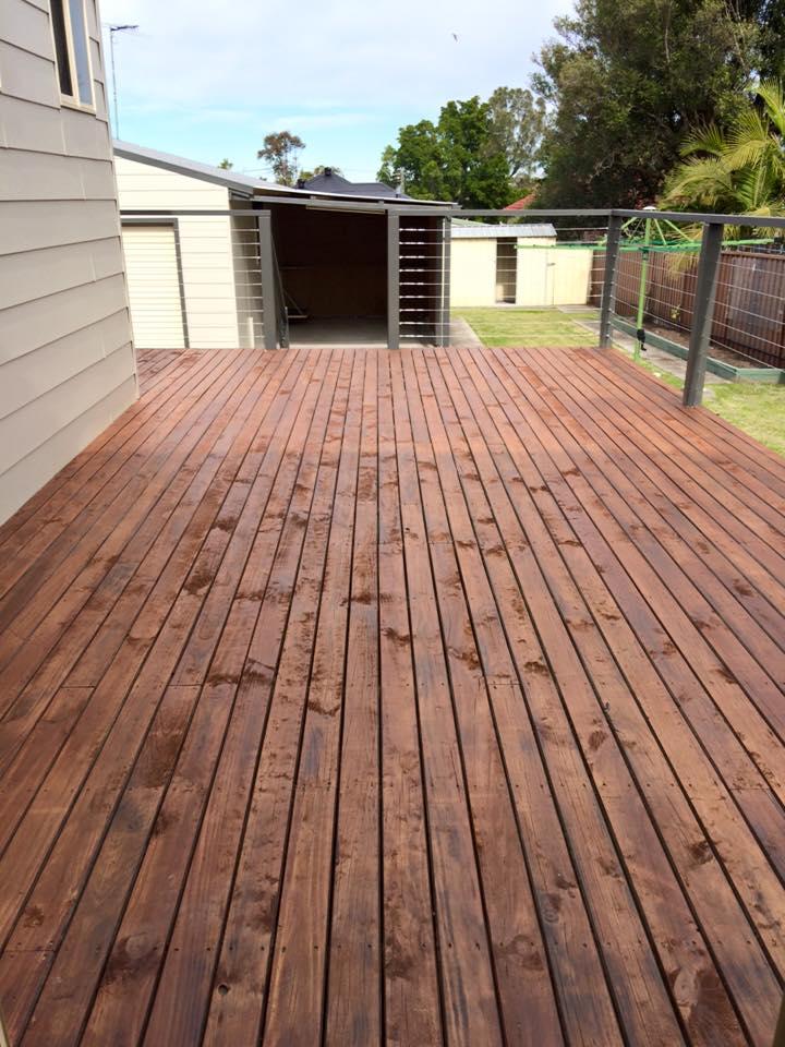 Deck - Belmont NSW