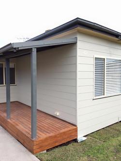 Porch deck - Belmont NSW