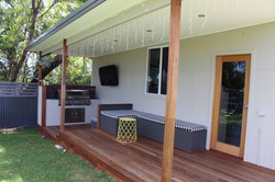 Outdoor area - Cardiff NSW