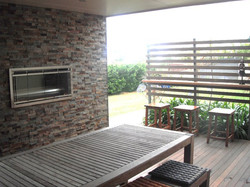 Feature Walls and Deck