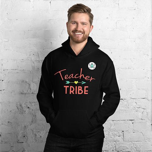 Mens Teacher Tribe Hoodie