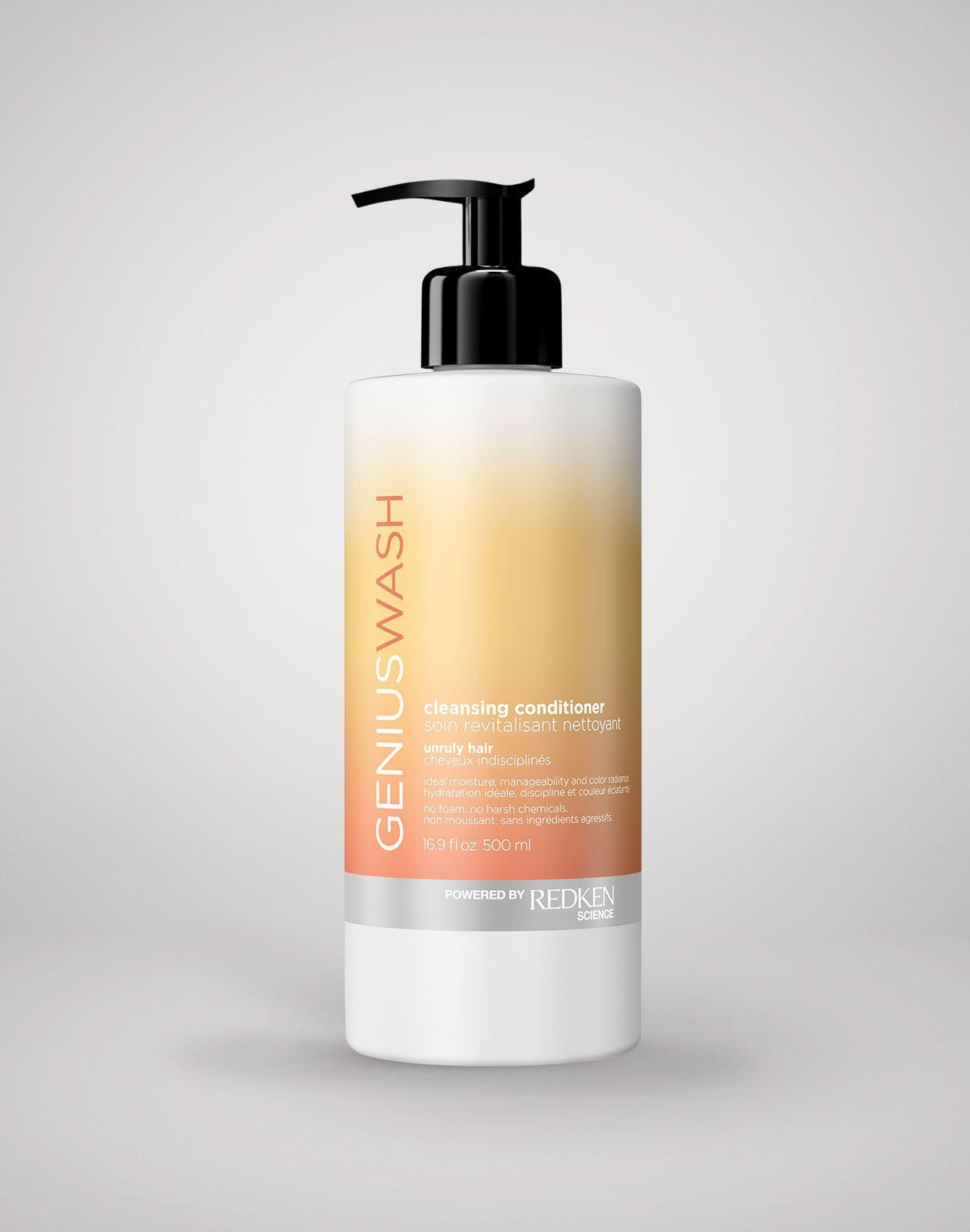 Genius Wash Unruly Hair