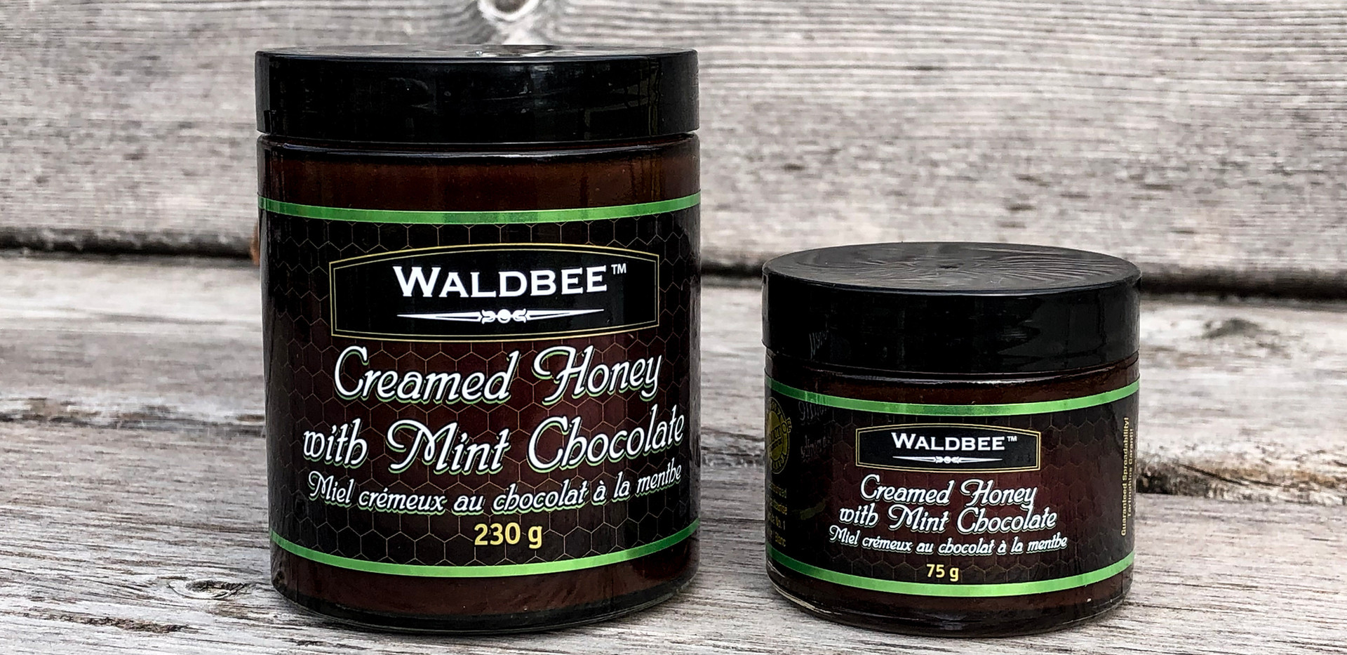Creamed Honey with Mint Chocolate