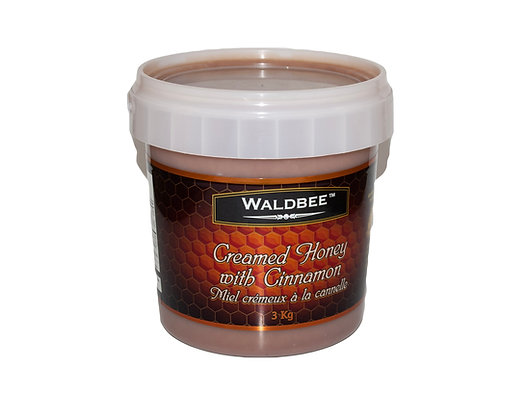 3kg Creamed Cinnamon Honey