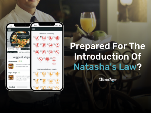 Prepared For The Introduction of Natasha's Law? EMenu Launches All-New Allergen Filters.