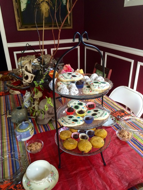 Day of the Dead Tea Party