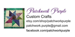 Patchwork Purple