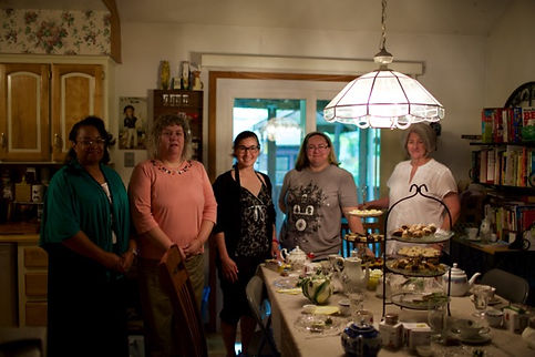 2015 Volunteer Appreciation Tea Party