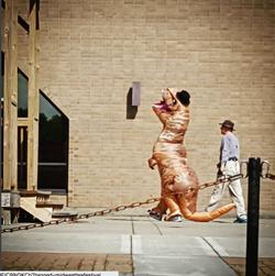 Earl the Tea-Rex sighting
