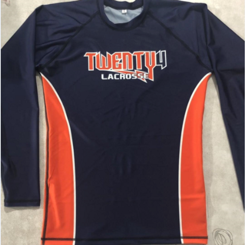 Warm Gear Rash Guard Shirt