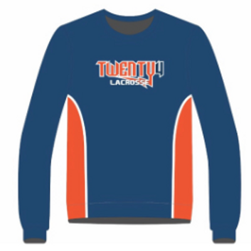 Twenty4 Custom Dye Sublimated Sweatshirt