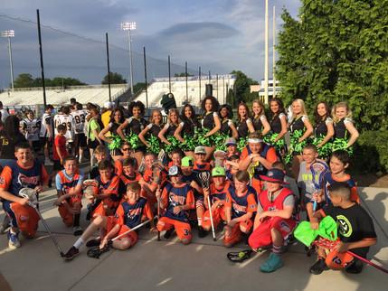 Twenty4 East with NY Lizards Cheerleaders