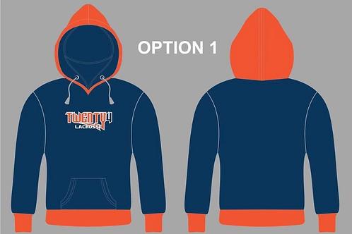 Dye Sublimated-Orange Hood