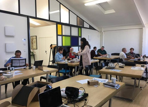 From agritech to augmented reality: week two with our June cohort