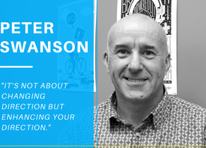 Peter Swanson on how he is chasing his entrepreneurial dream with Tech Futures Lab