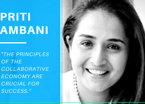 5 things you didn't know about the collaborative economy with Priti Ambani