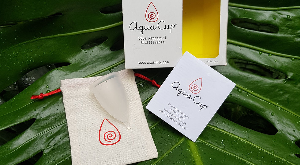 Copa Menstrual Agua Cup TALLA UNO