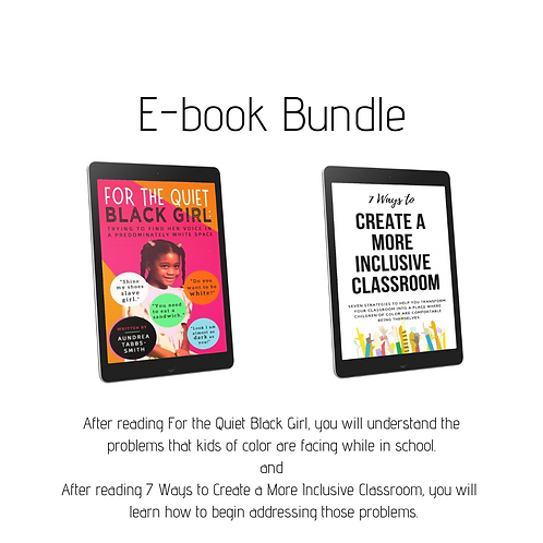 Building a Diverse Classroom E-book Bundle