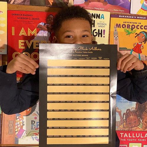 Black Joy by Black Authors Scratch Off Poster
