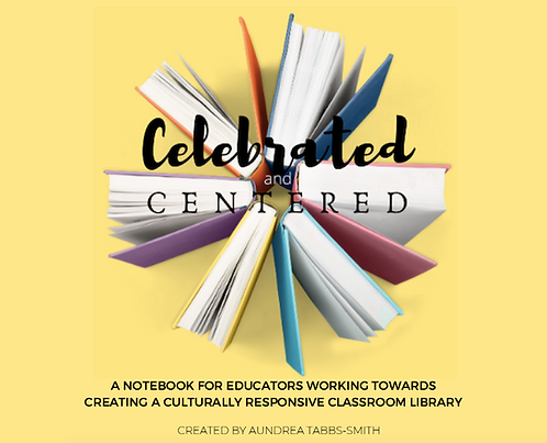 Cultural Responsive Library Notebook for Elem Ed.
