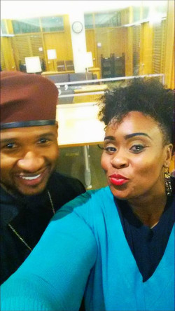 Glitteratie & Usher