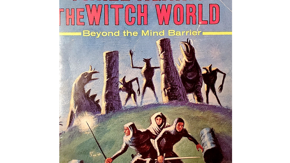 Three Against the Witch World by Andre Norton