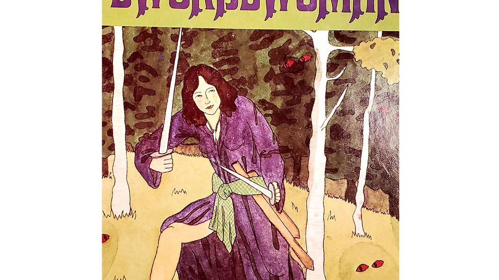 The Swordswoman by Jessica Amanda Salmanson
