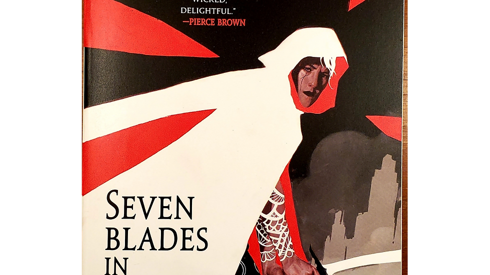 Seven Blades in Black by Sam Sykes