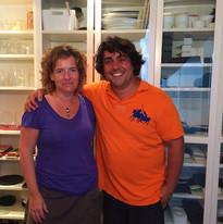 Con Luis Veira